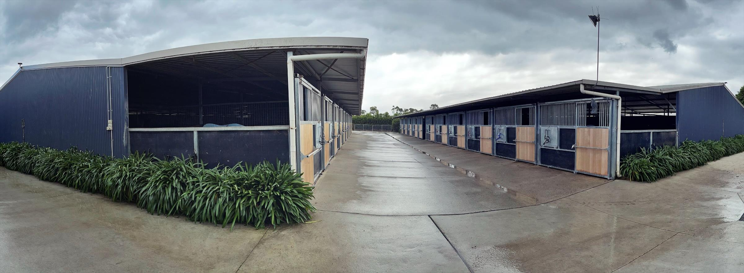 Stables - Boxes are approximately 10 x 3.6 metres